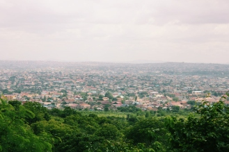 View from the University of Ghana
