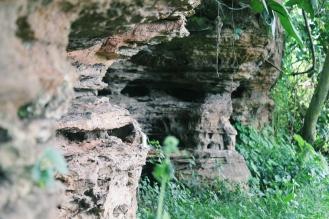 Hike to the cave at Kwamang