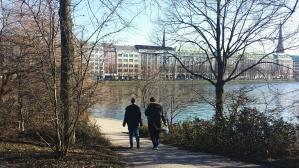 Walk around Binnenalster