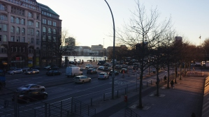 View from the Kunsthalle Hamburg
