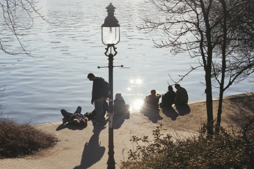 Youth at Binnenalster