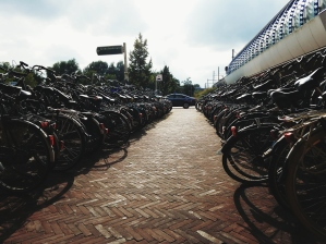 """""""Parking"""" near the Amsterdam ArenA"""
