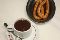 Chocolate con churro