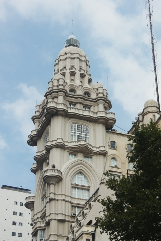 A building that our guide said was an embarrassment to a unified architecture in Argentina