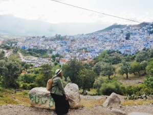Overlooking the city from the path to the Spanish Mosque