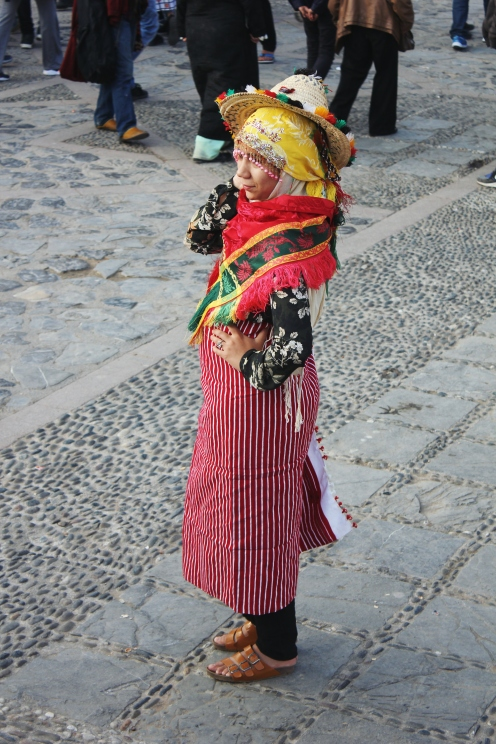 Traditional Berber outfit