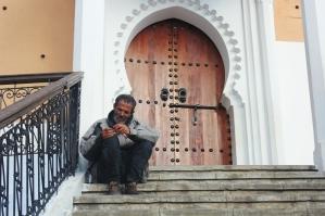 Man at Grand Mosque