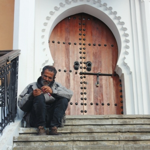 Man at Grand Mosque