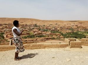 Aït Ben Haddou overlook