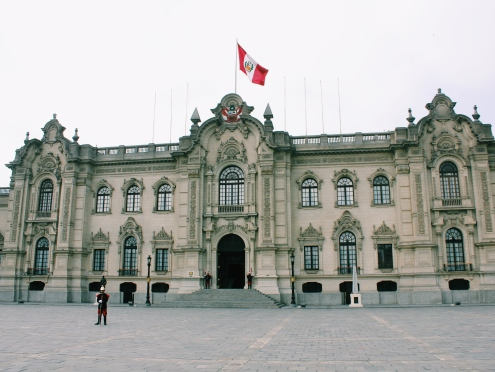 "Palacio de Goberino - the Peruvian ""white house"""