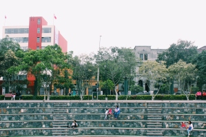 Outdoor theatre at MALI