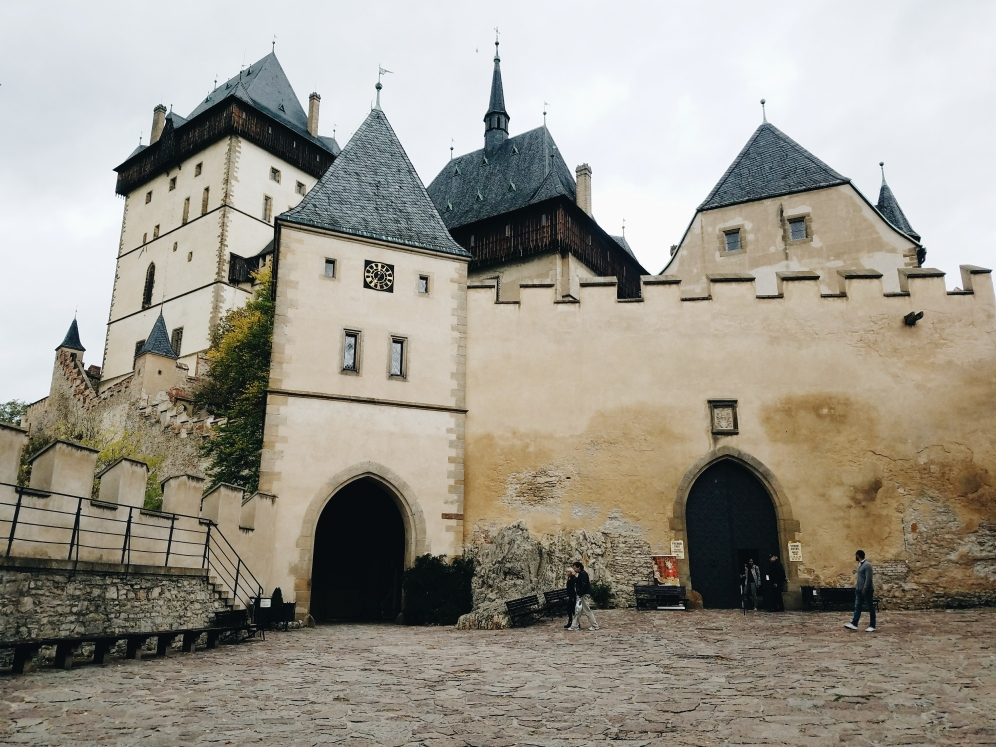 Karlštejn Castle. Processed with VSCO with a6 preset