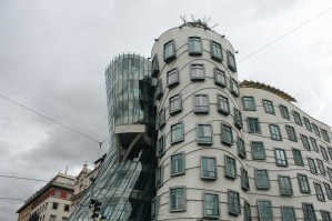 The Dancing House by Frank Gehry. Processed with VSCO with a6 preset