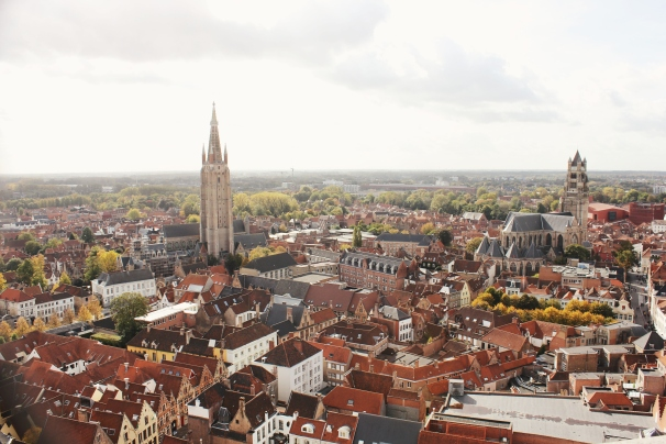 View of the city from the Belfry