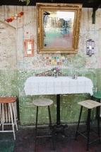 Szimpla Ruin bar in the Jewish Quarter